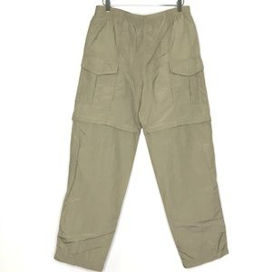 Rugged Exposure Tan Convertible Cargo Pants